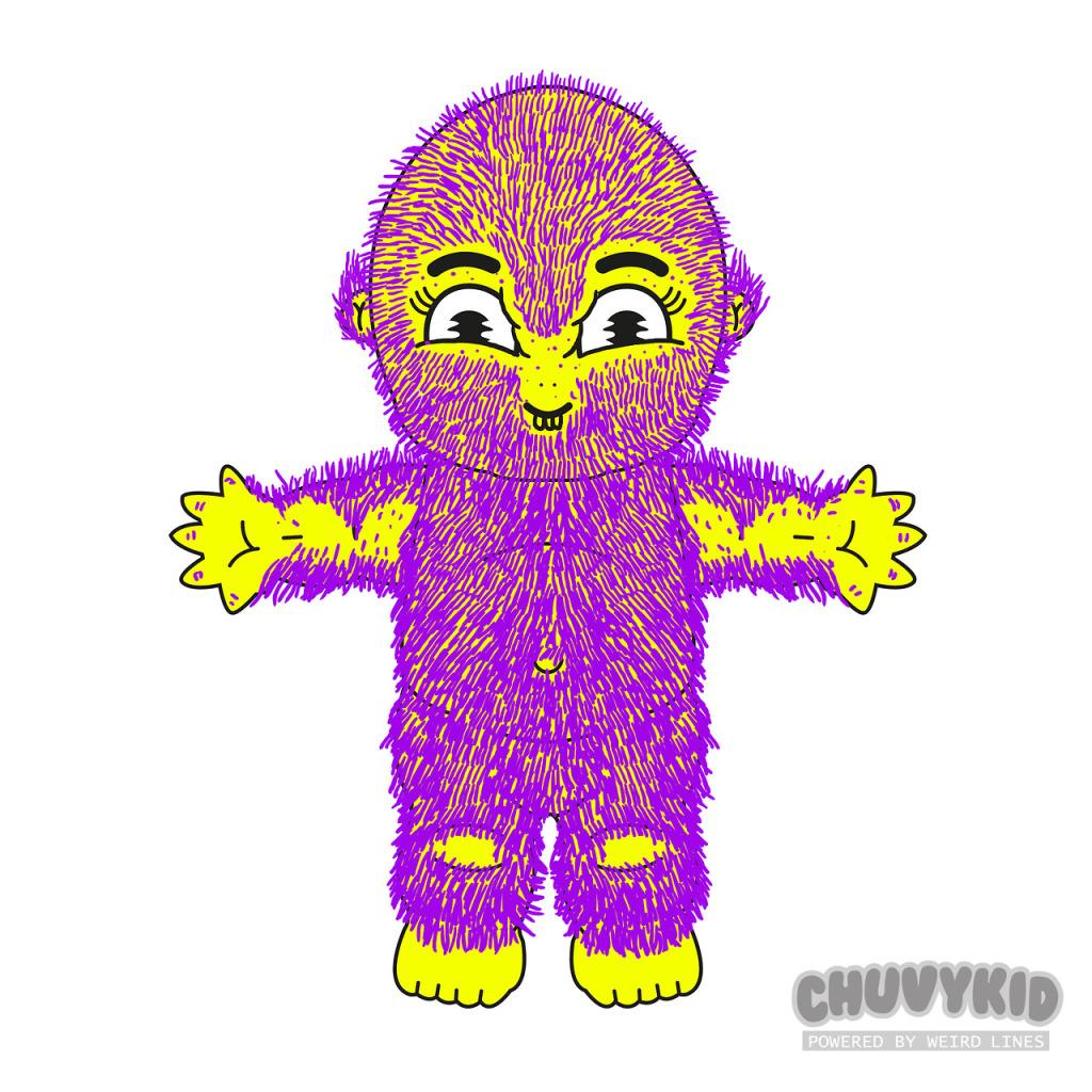 Plantilla Chuvykid Weird Lines