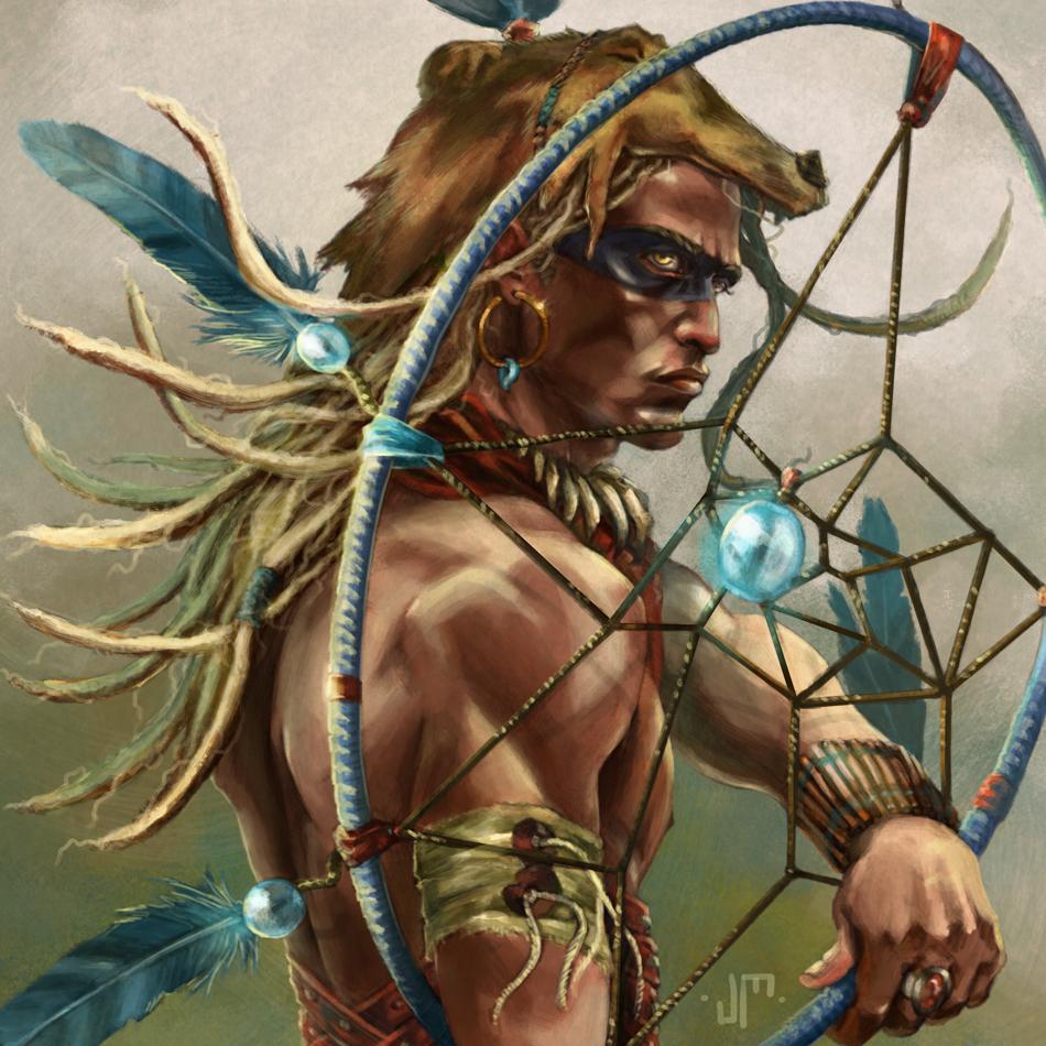 human-druid